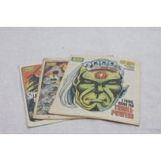 3x 2000AD comics from the early 80s
