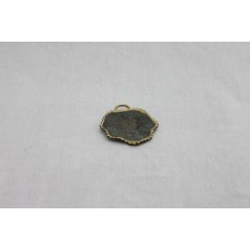 A Holy Land Wall Medal used as an Ashtray