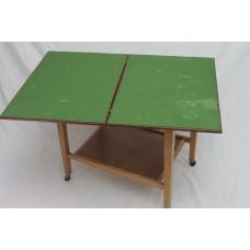 A Folding Card table