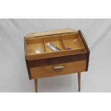 A Side Table with Hinged Compartment